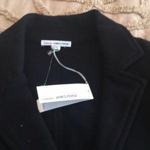James Perse long  soft cotton blazer NWT